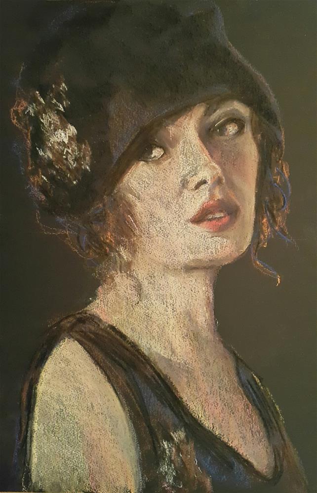 """The great gatsby"" original fine art by Rentia Coetzee"