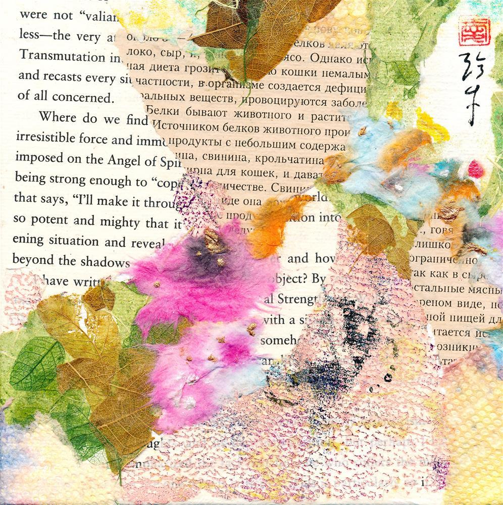 """Transmutation"" original fine art by Janet Gunderson"