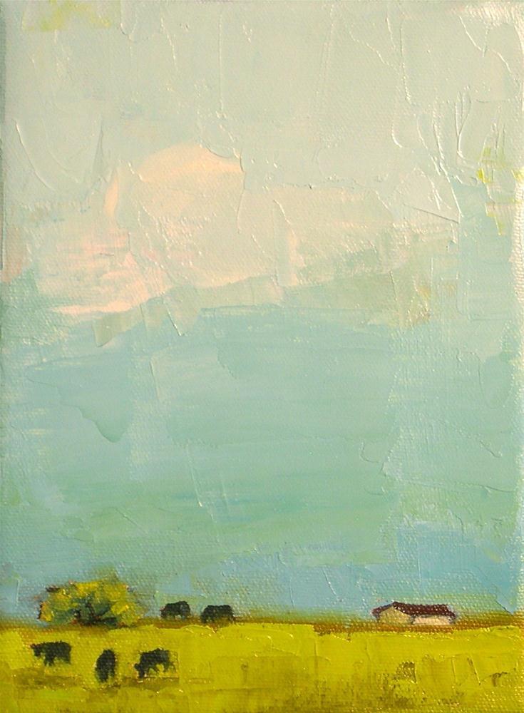 """A Simple Day"" original fine art by Donna Walker"