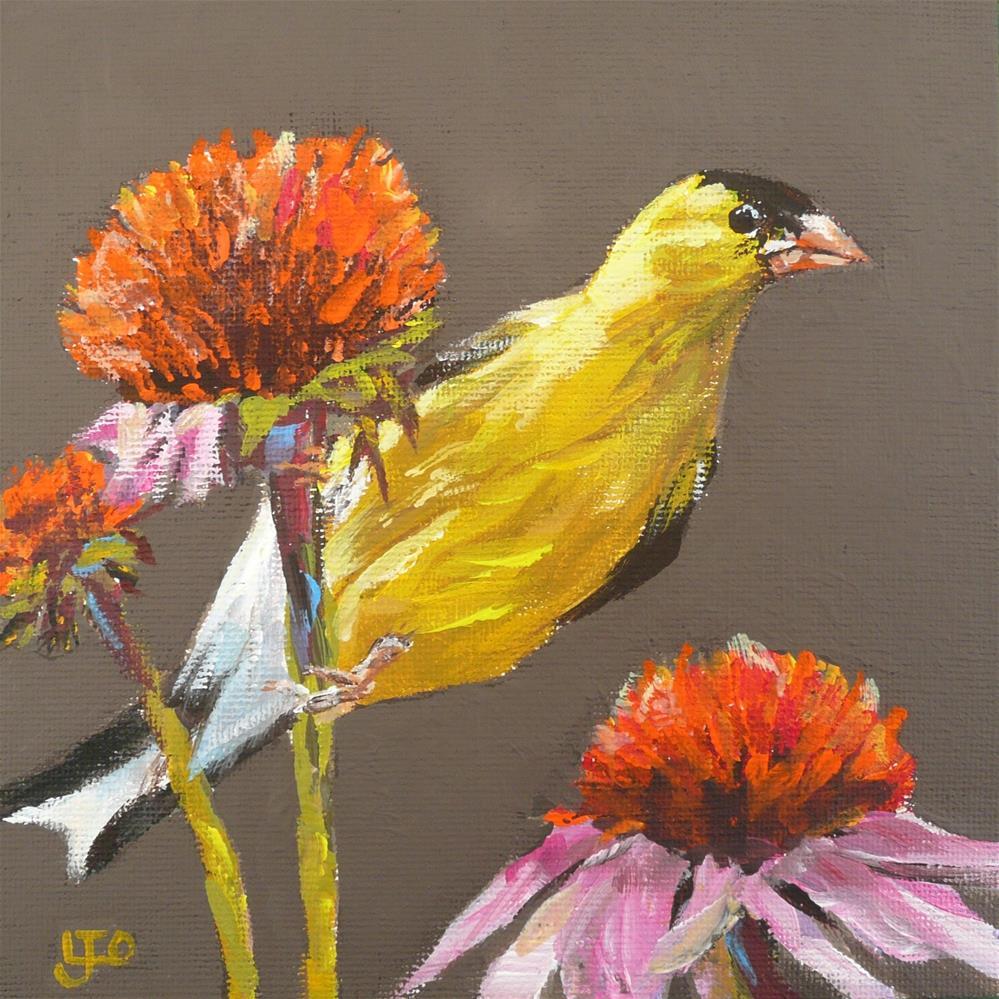 """""""Greener Pastures"""" original fine art by Leanne Owen"""