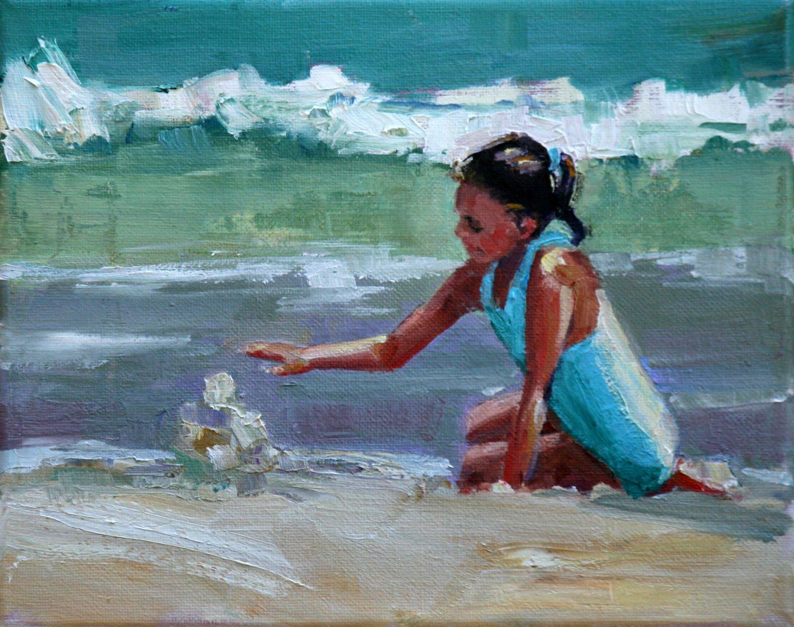"""libby"" original fine art by Carol Carmichael"