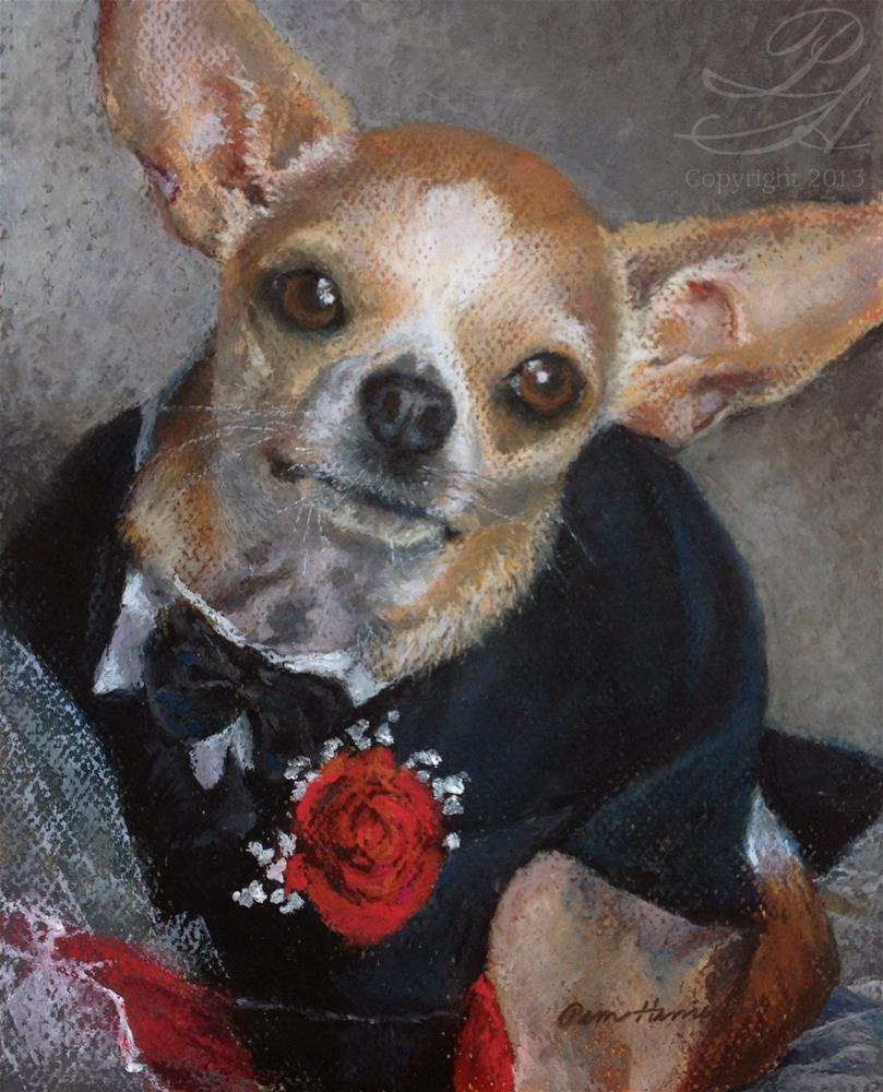 """Emilio"" original fine art by Pamela Hamilton"