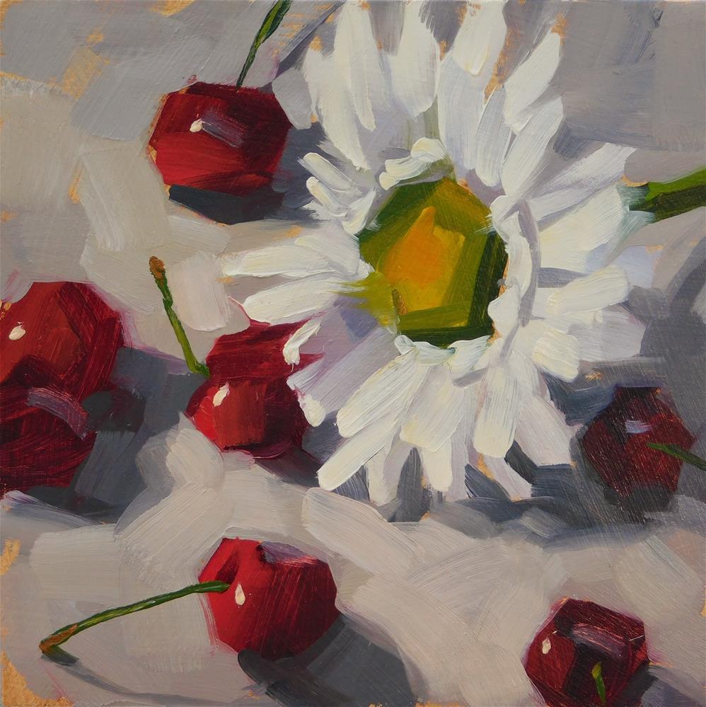 """""""Dear Daisy"""" original fine art by Karen Werner"""