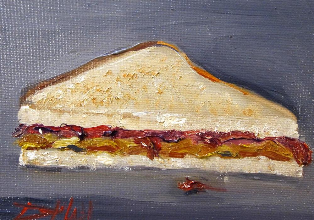 """Peanut Butter and Jelly No. 4"" original fine art by Delilah Smith"