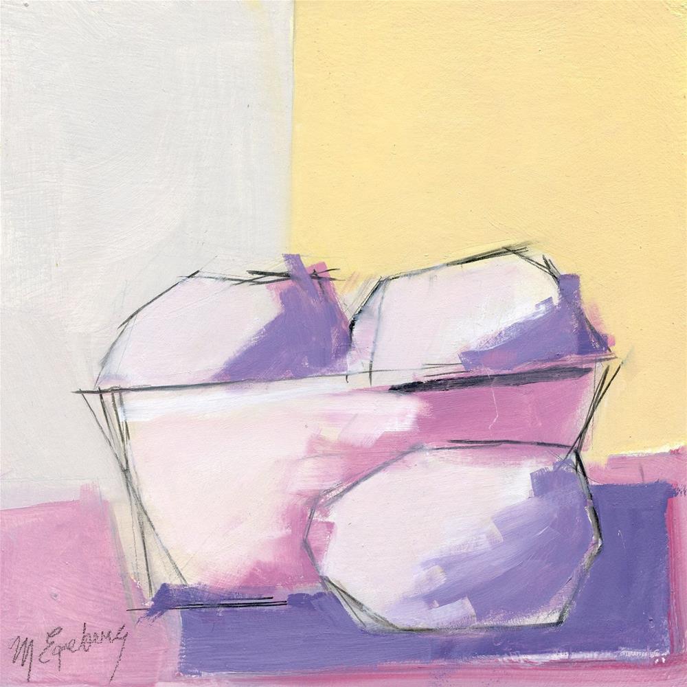 """Fresh Eggs"" original fine art by Mitch Egeberg"