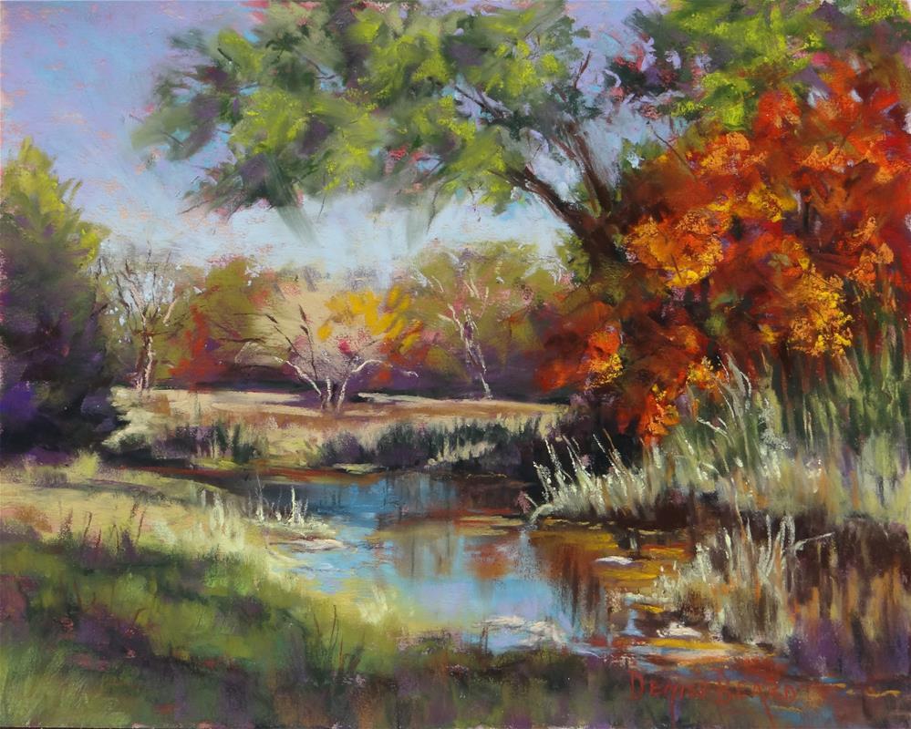 """Autumn Repose"" original fine art by Denise Beard"