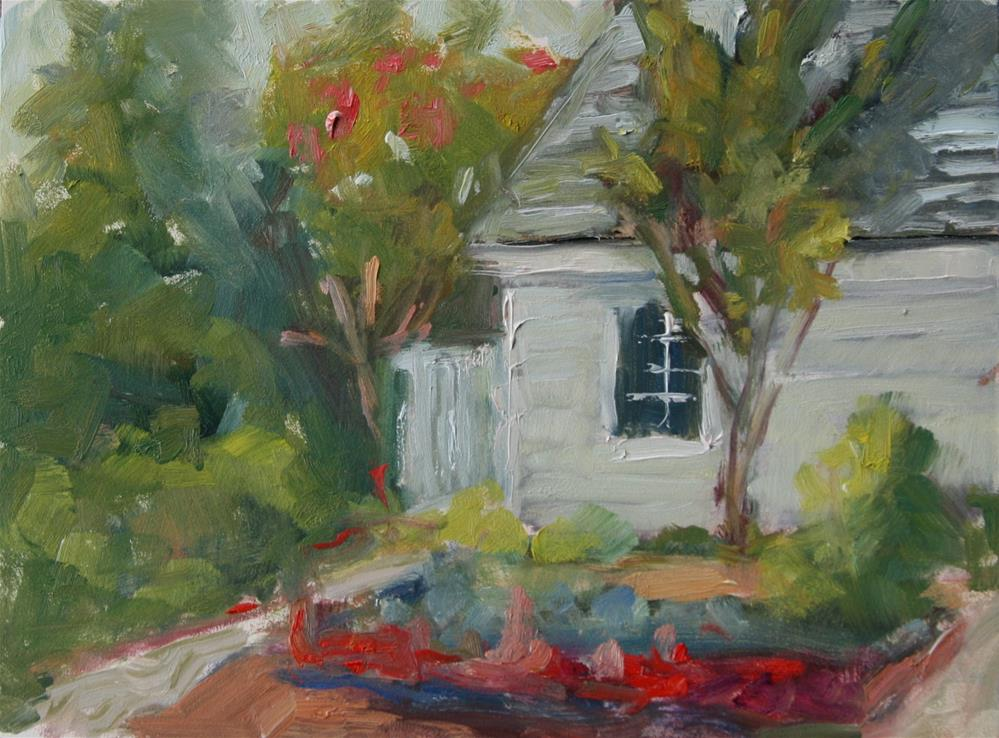 """Mary Washington Garden"" original fine art by Carol Josefiak"