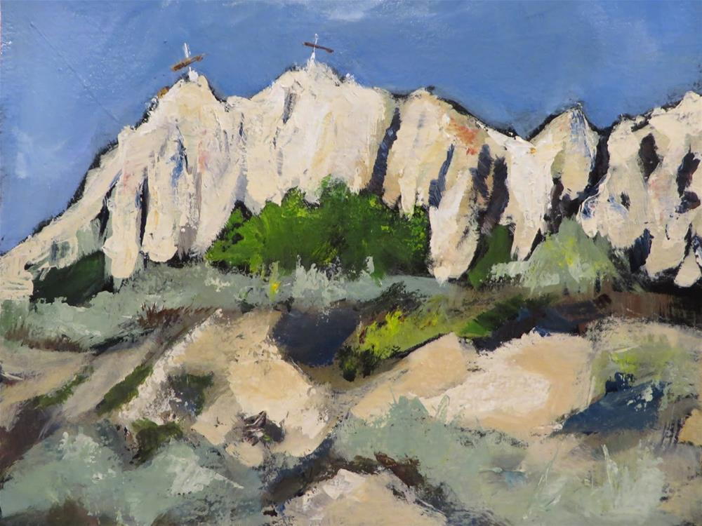 """""""709 Somewhere (Else) in New Mexico"""" original fine art by Diane Campion"""