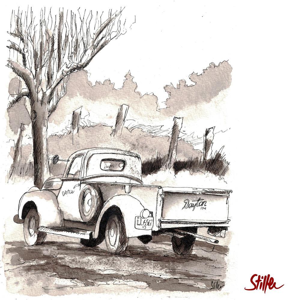 """""""3615 Dayton"""" original fine art by Dietmar Stiller"""