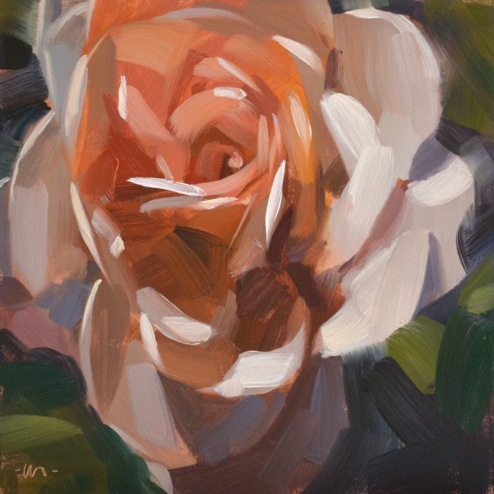 """""""Dusty Rose"""" original fine art by Carol Marine"""