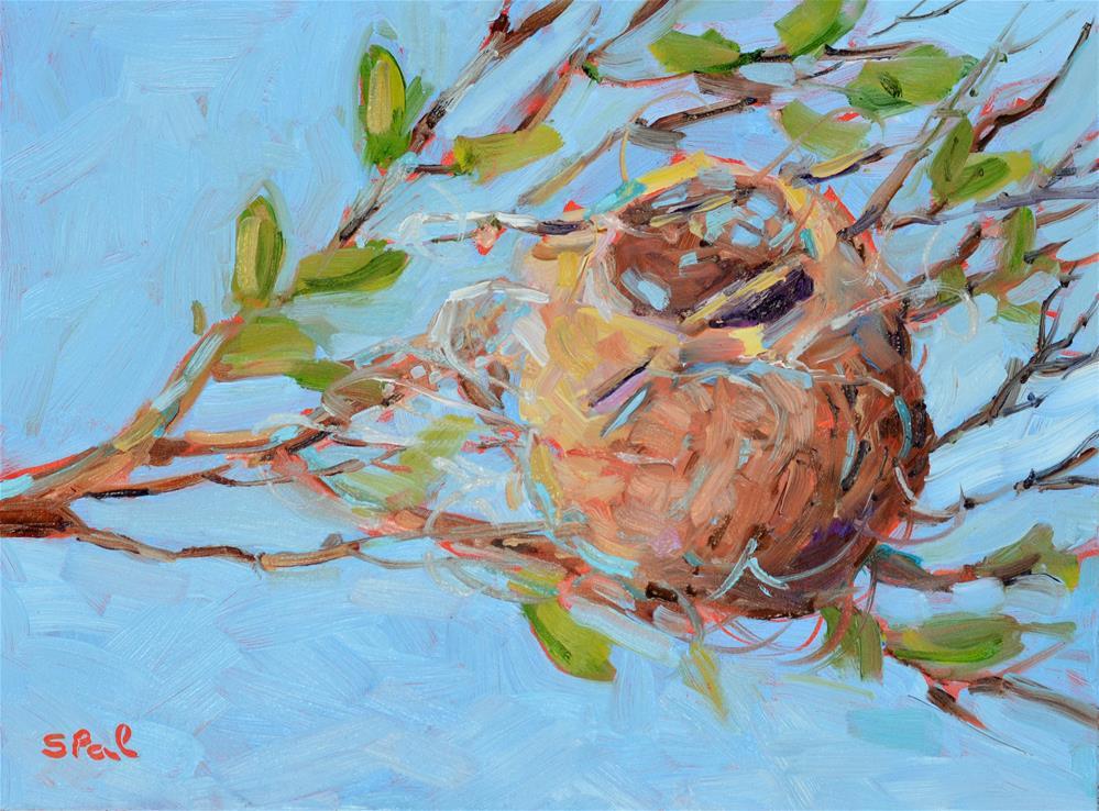 """Home Sweet Home"" original fine art by Suzy 'Pal' Powell"
