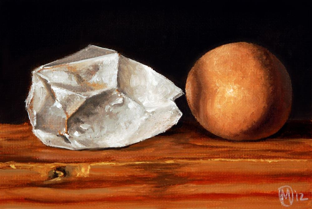 """The Egg & Crystal"" original fine art by Maurice Morgan II"