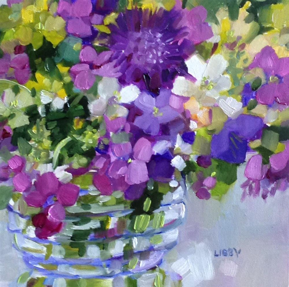 """Dazzle Me"" original fine art by Libby Anderson"