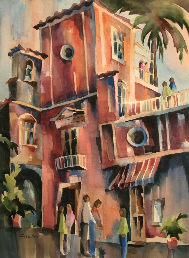 """""""Ravello, Italy"""" original fine art by Jinnie May"""