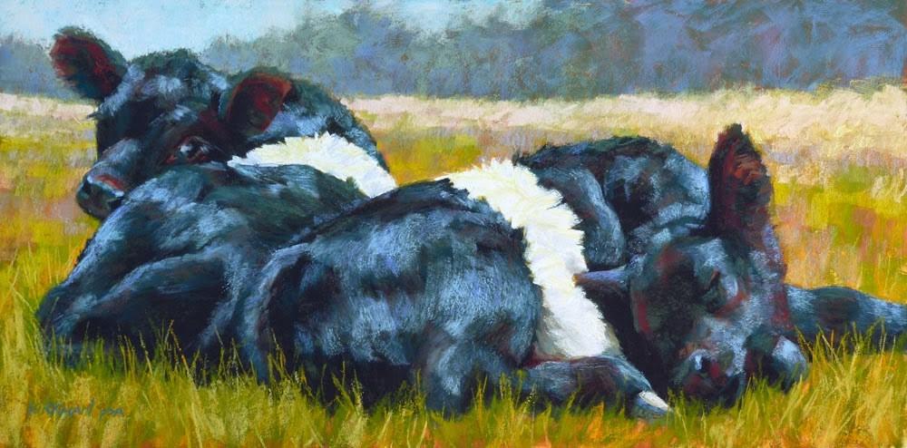 """Got Milk? (revised)"" original fine art by Rita Kirkman"