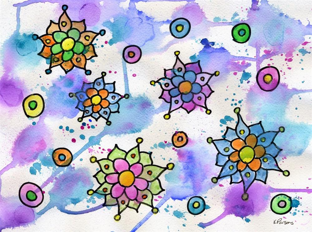 """""""Baubles and Beads"""" original fine art by Kali Parsons"""