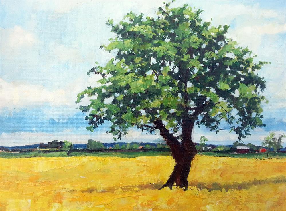 """Radiant Field"" original fine art by Nava Judith"