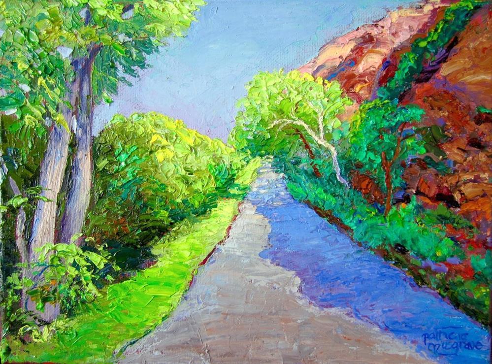 """Highway 211, Utah"" original fine art by Patricia Musgrave"