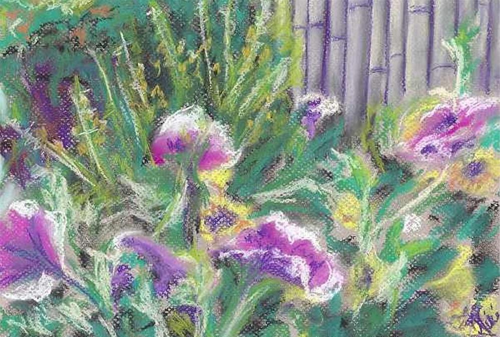 """Flowers"" original fine art by Niki Hilsabeck"