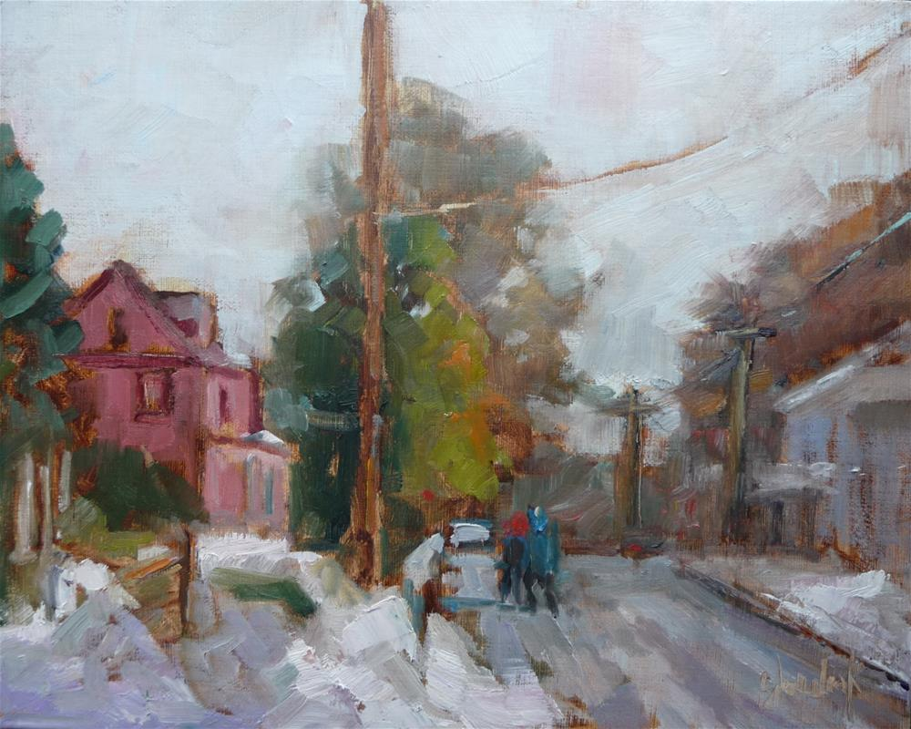 """Snow Day"" original fine art by Carol Josefiak"