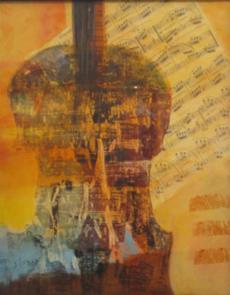"""""""ENCORE"""" original fine art by Kris Stewart"""