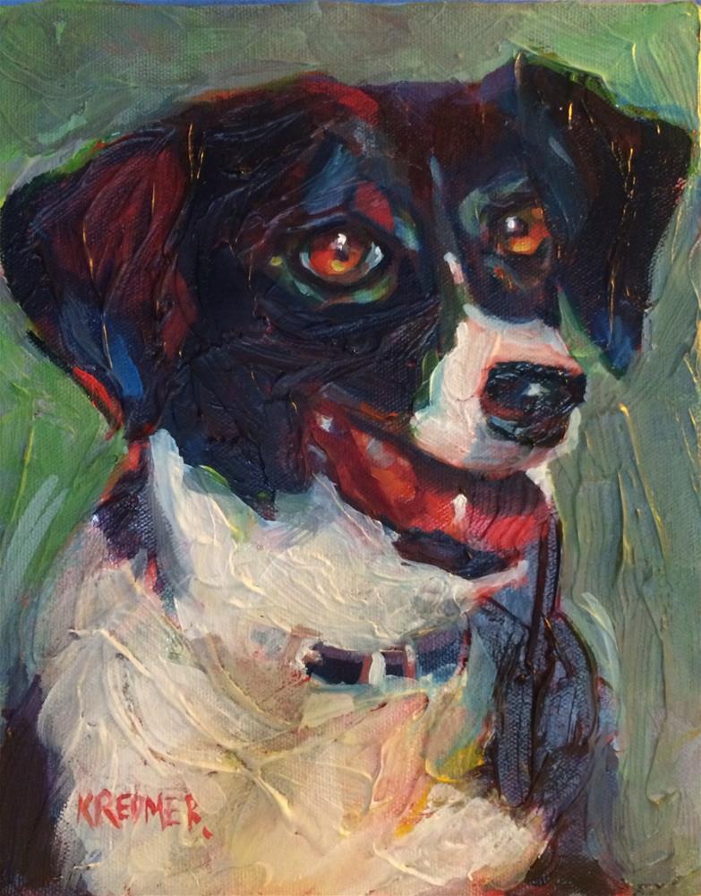 """""""Lacey"""" original fine art by Kathleen Redmer"""