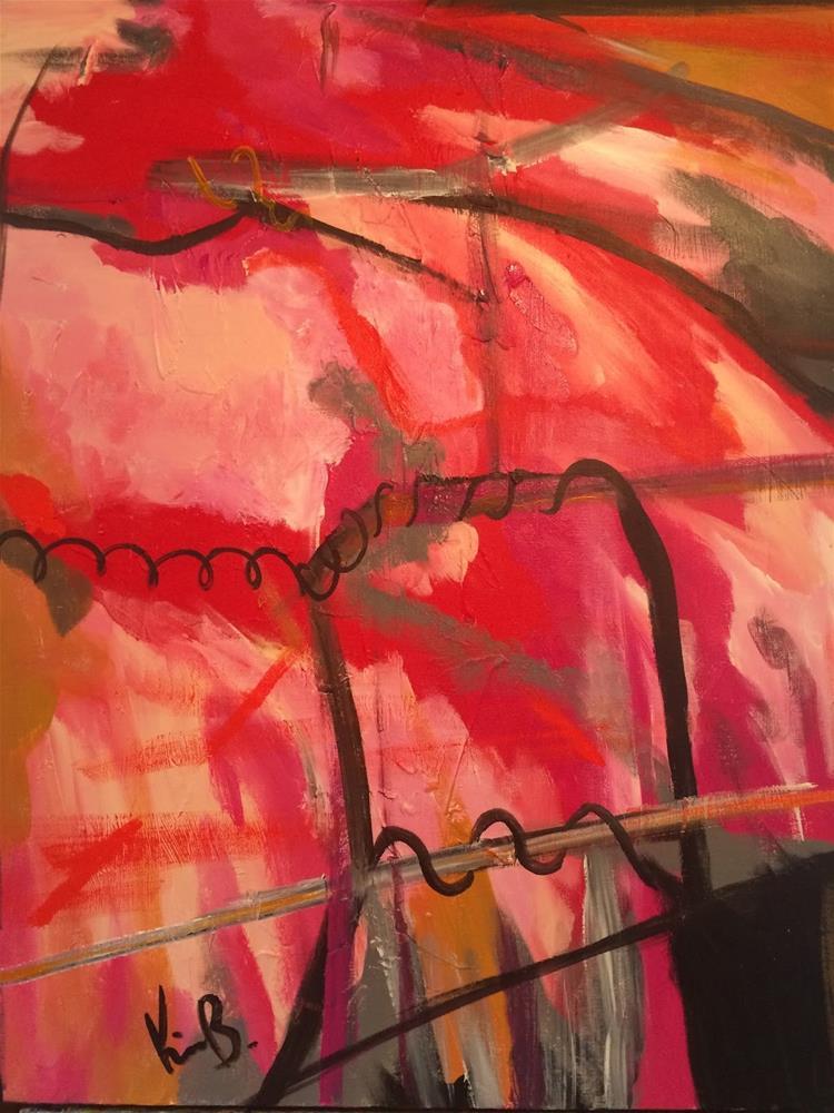"""Passion"" original fine art by Kimberly Balentine"