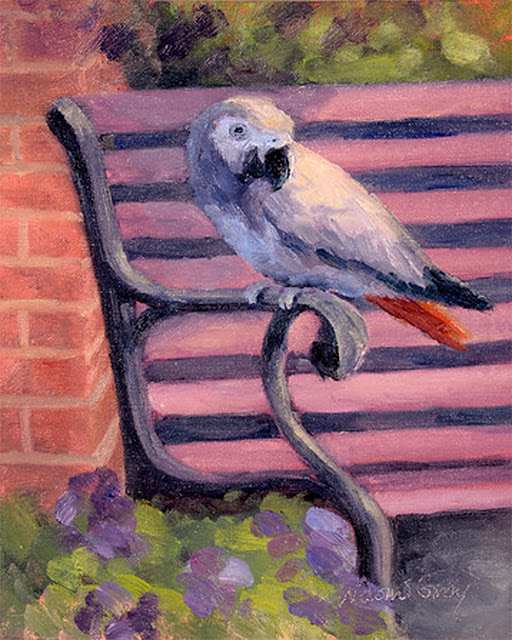 """Sweet Ellensburg at Paint Ellensburg"" original fine art by Naomi Gray"