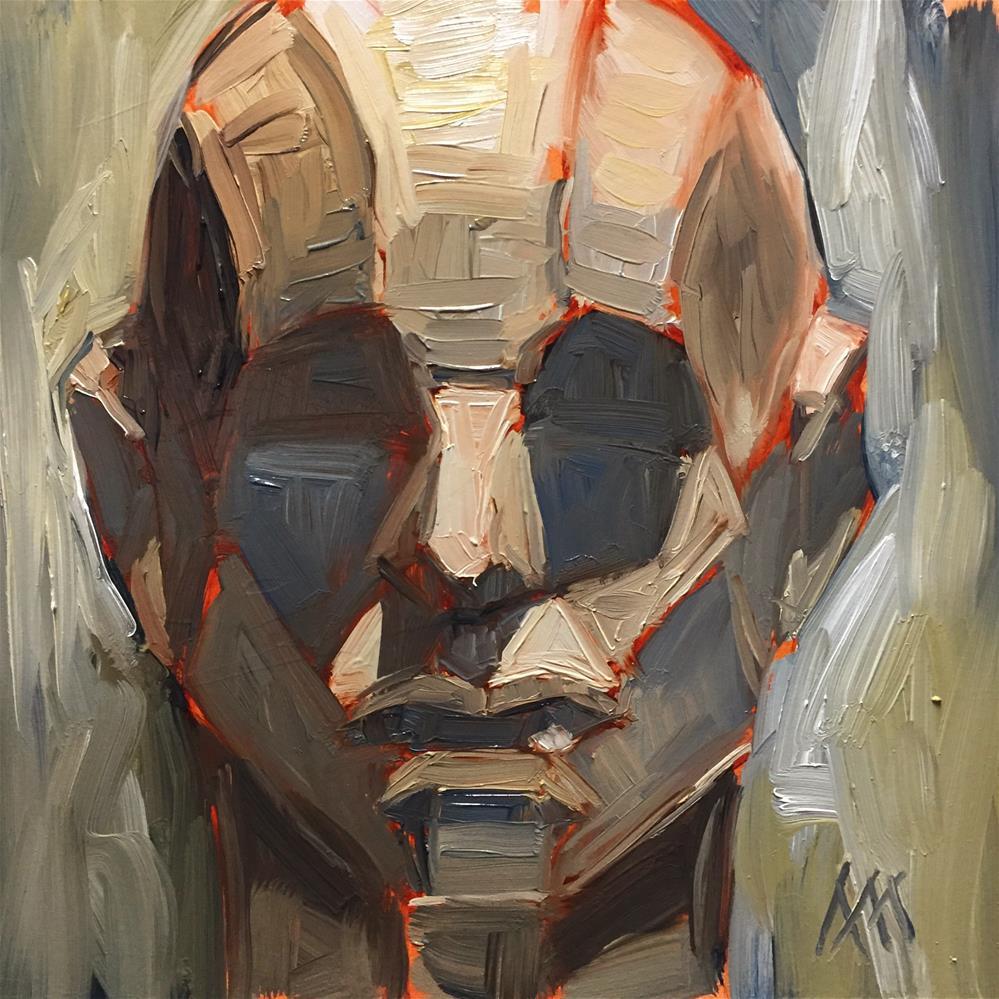 """Head Plane Study"" original fine art by Austin Maloney"