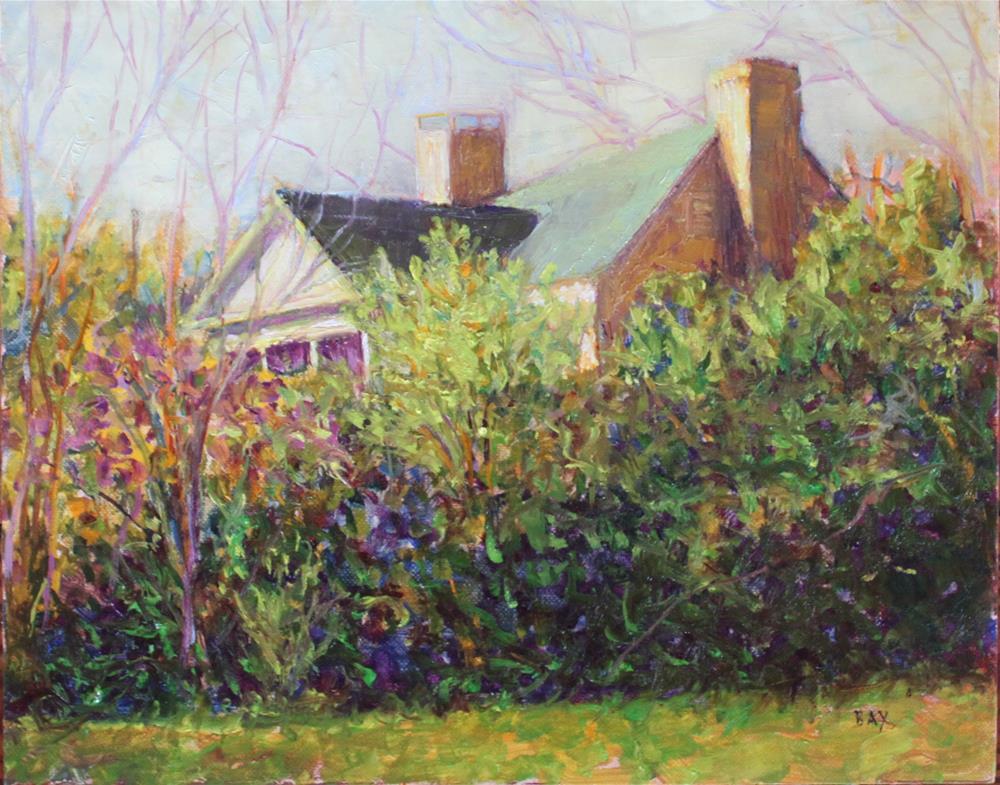 """MY HOME"" original fine art by barbara yongue"
