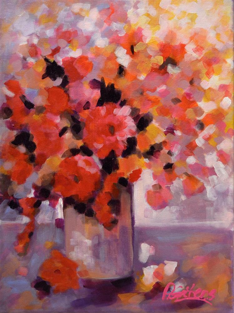 """""""Ruby Window"""" original fine art by Pamela Gatens"""