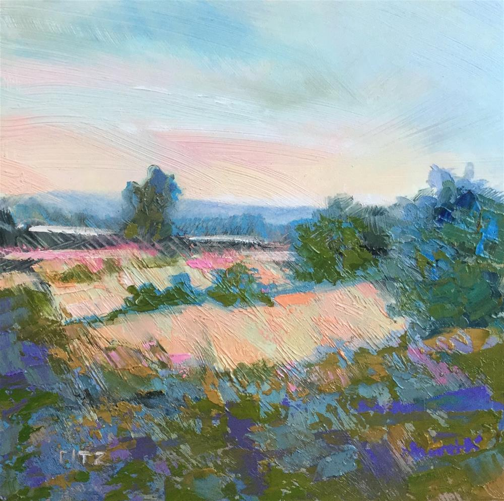 """September Expanse"" original fine art by Charlotte Fitzgerald"