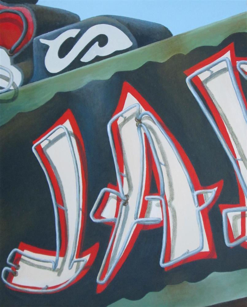 """JA"" original fine art by Debbie Shirley"