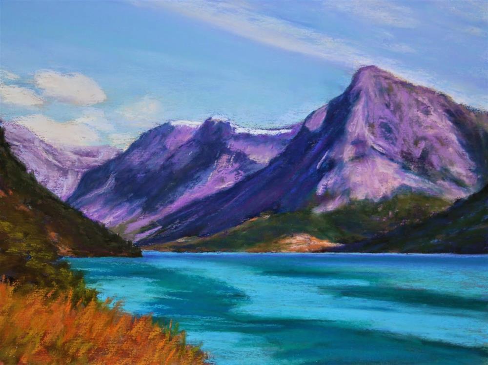"""Majestic Beauty"" original fine art by Sharon Lewis"