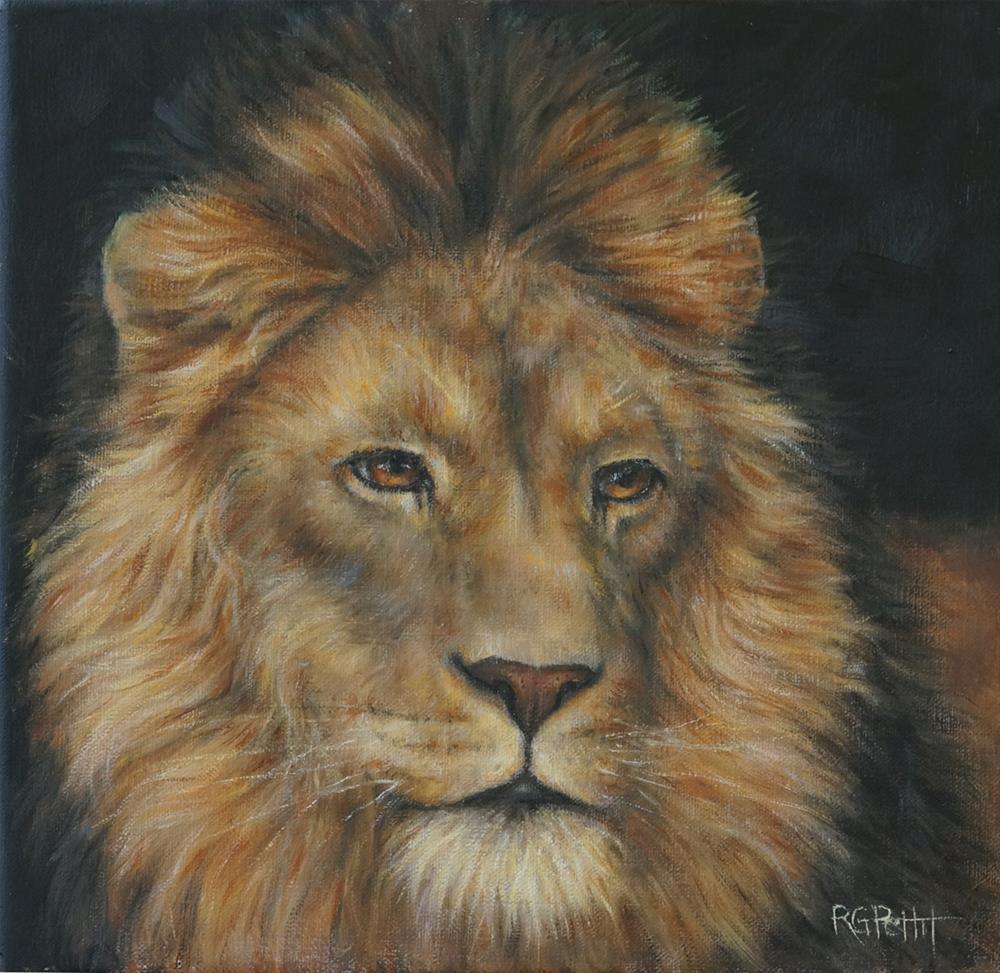 """""""In memory of Cecil"""" original fine art by Rhea  Groepper Pettit"""