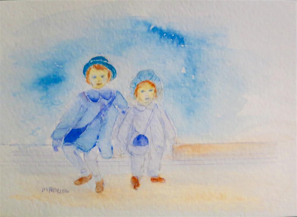"""Sisters 089"" original fine art by Michelina Frey"