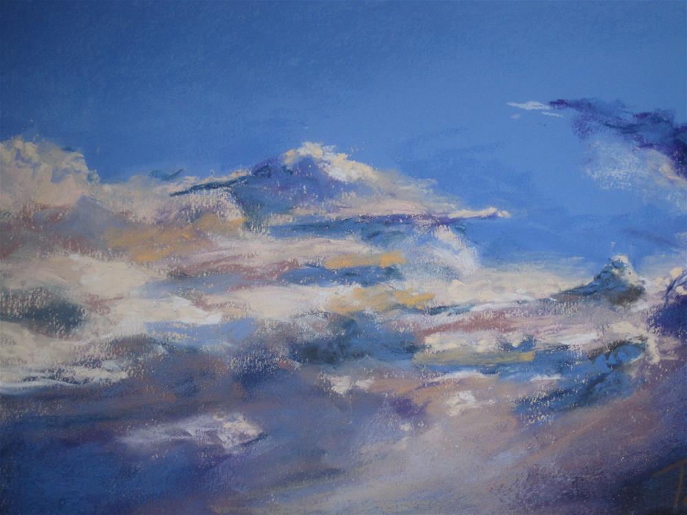 """""""Clouds #8"""" original fine art by Toby Reid"""