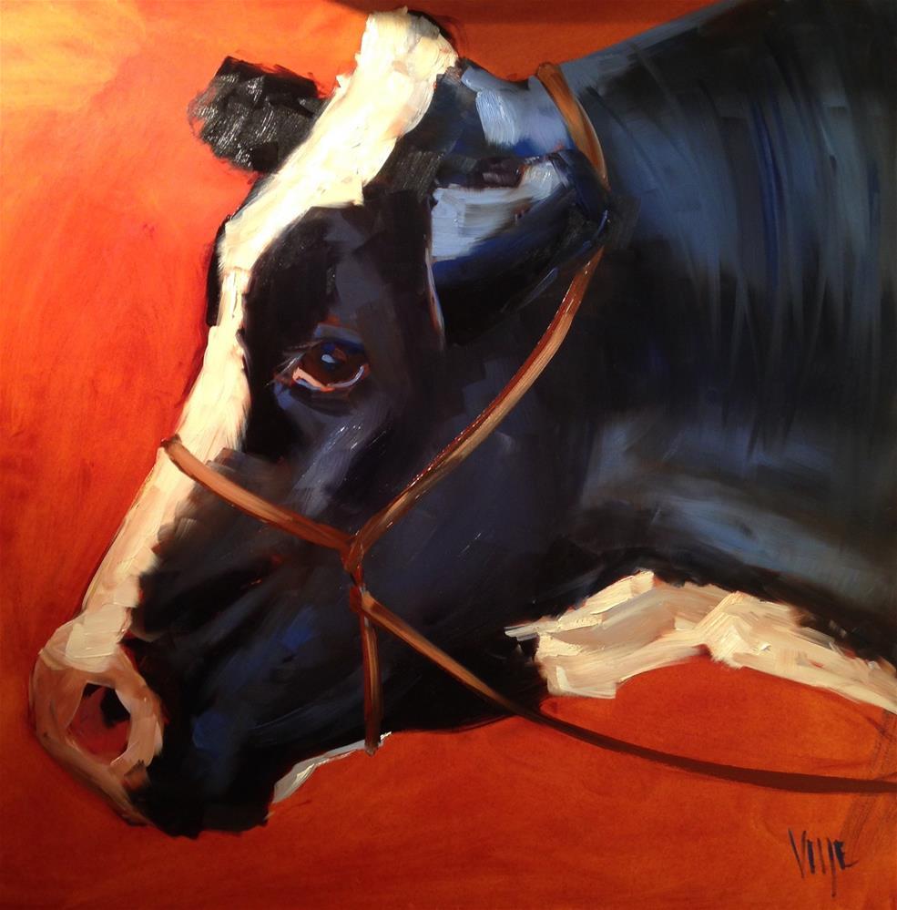 """#223 Busted (big)"" original fine art by Patty Voje"