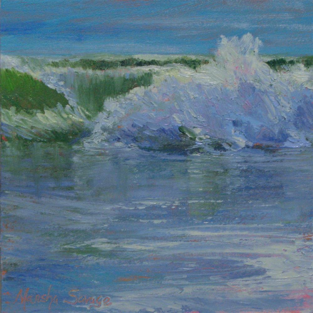 """Splish Splash"" original fine art by Marsha Savage"