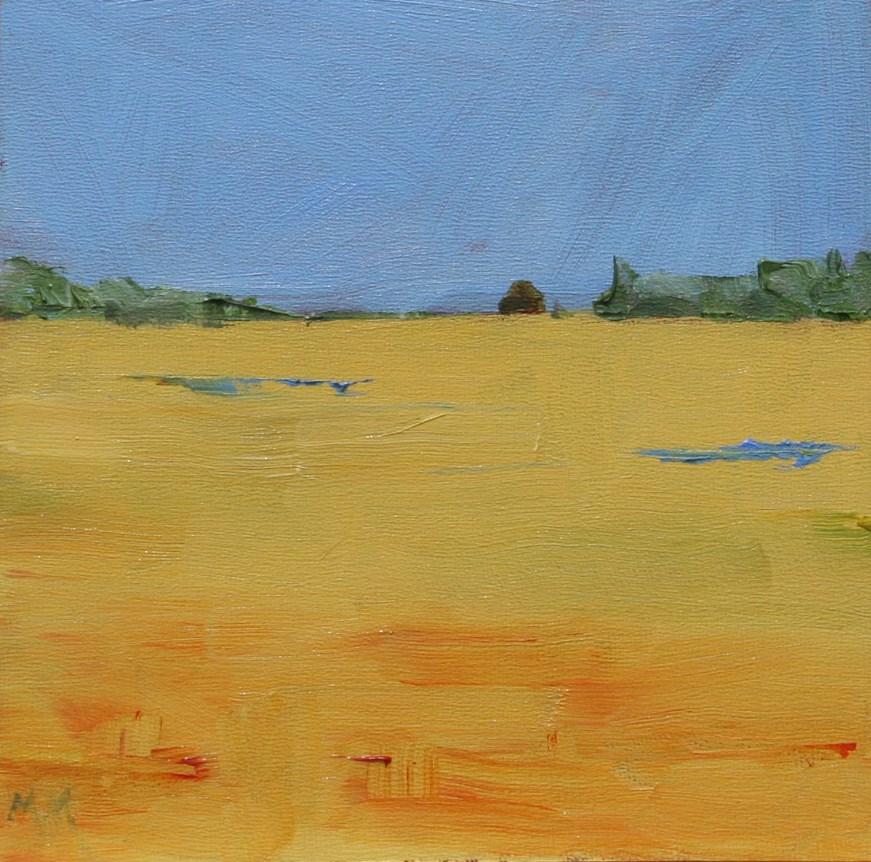 """Harvest"" original fine art by Maria McNitt"