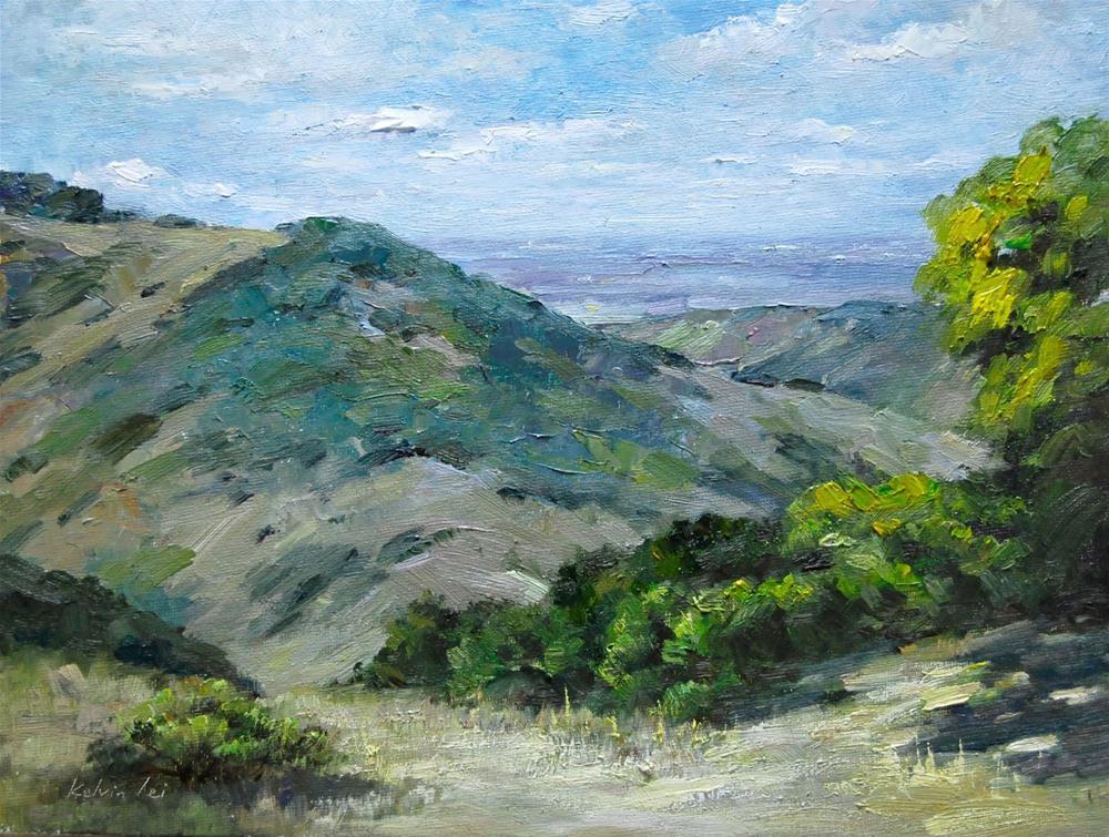 """""""Cloudy Day"""" original fine art by Kelvin Lei"""