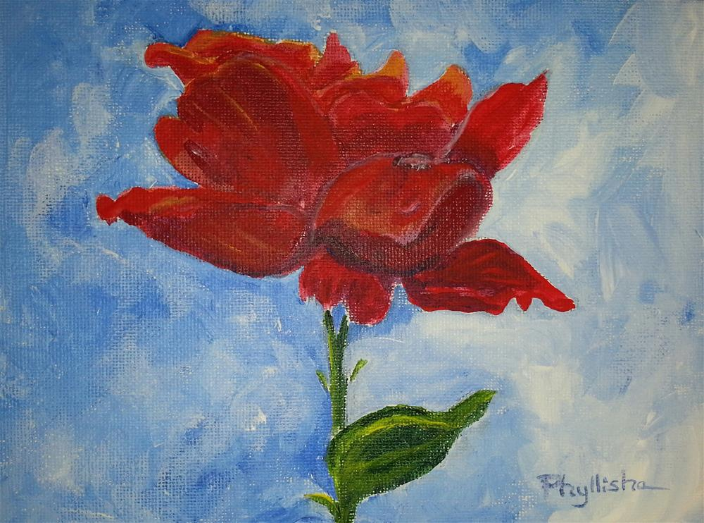 """Fading Glory"" original fine art by Phyllisha Hamrick"