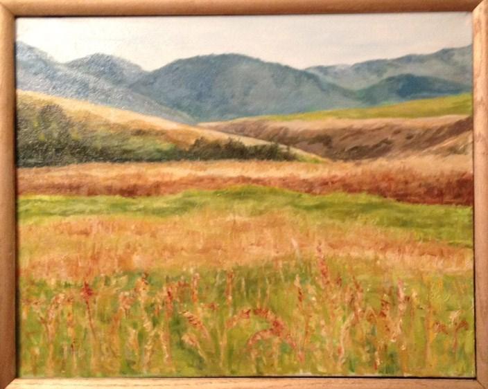 """Montana Symphony #1"" original fine art by Lucy Hammett"
