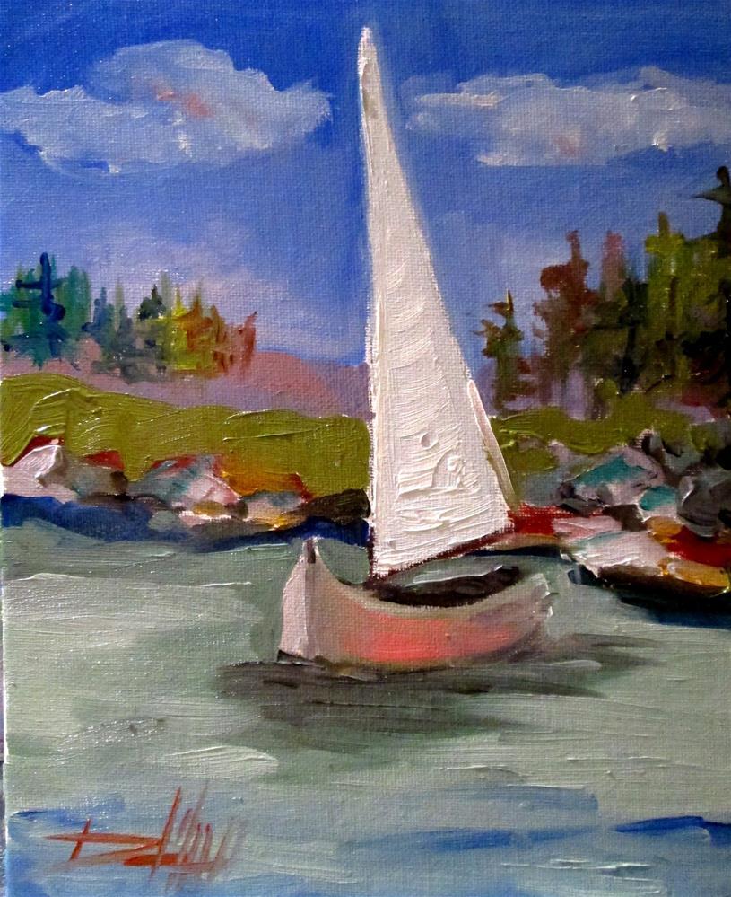 """Still Water"" original fine art by Delilah Smith"