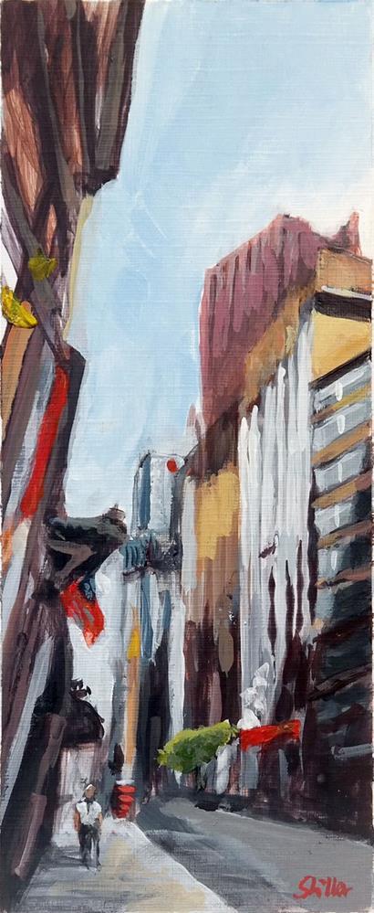 """1825 Five Years Daily Painting"" original fine art by Dietmar Stiller"