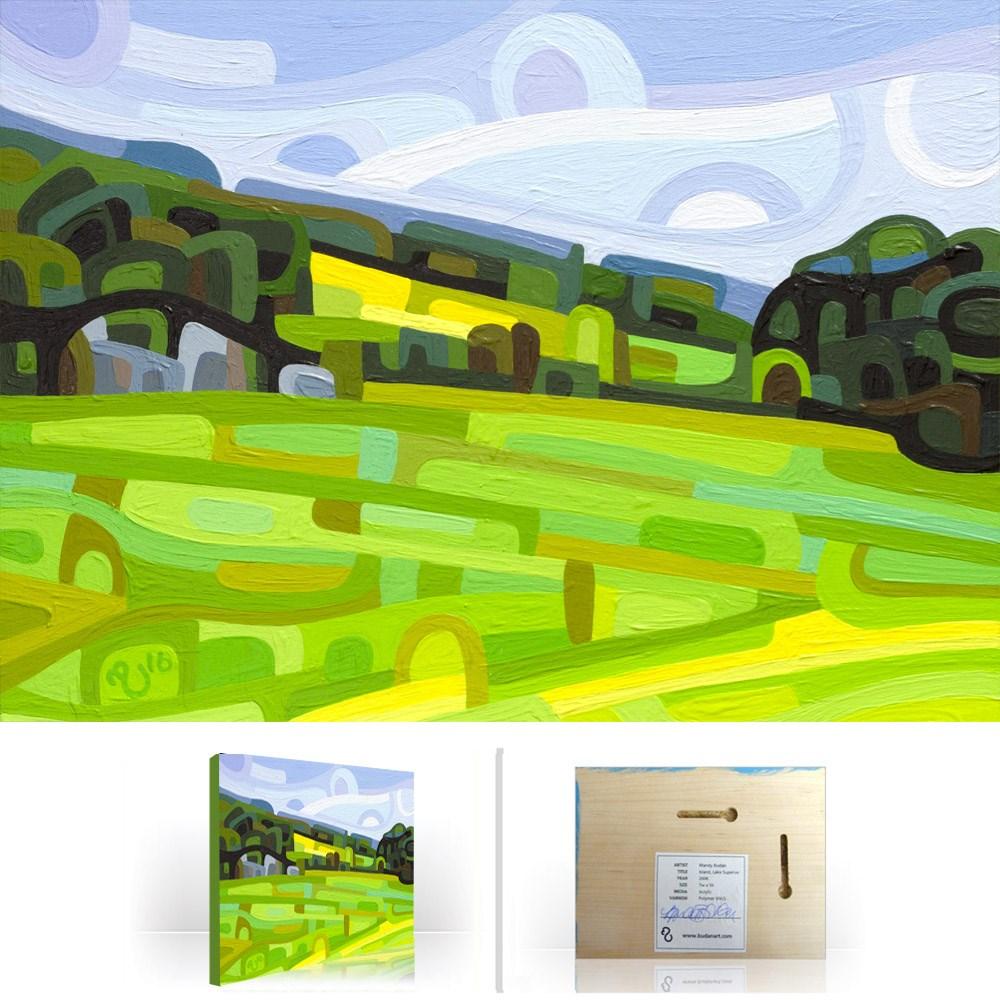 """Landscape Study #84"" original fine art by Mandy Budan"