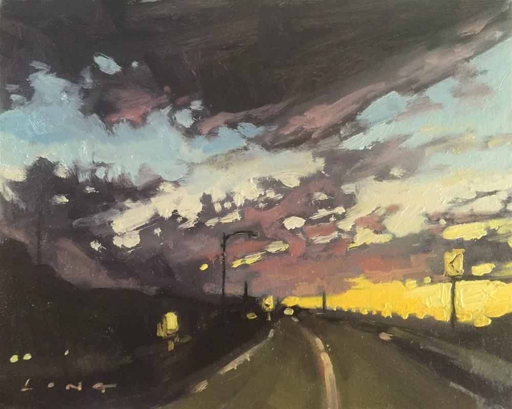 """Yucca Valley II"" original fine art by Chris Long"