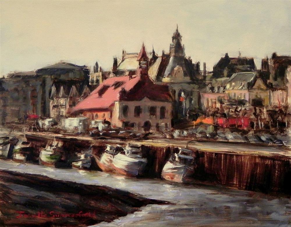"""""""Trouville, France"""" original fine art by Jonelle Summerfield"""