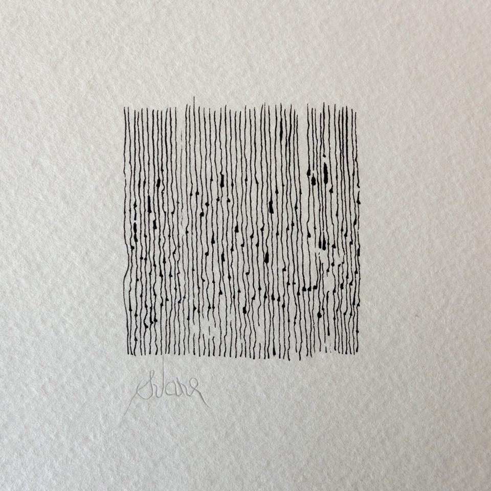 """RED SQUARE NUMBER 1"" original fine art by Craig Svare"
