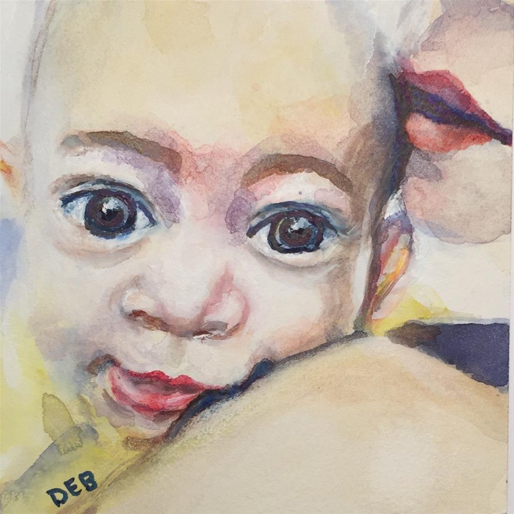 """Tiny Tim"" original fine art by Debbie Yacenda"